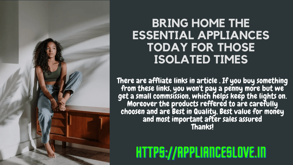 Home isolation appliances