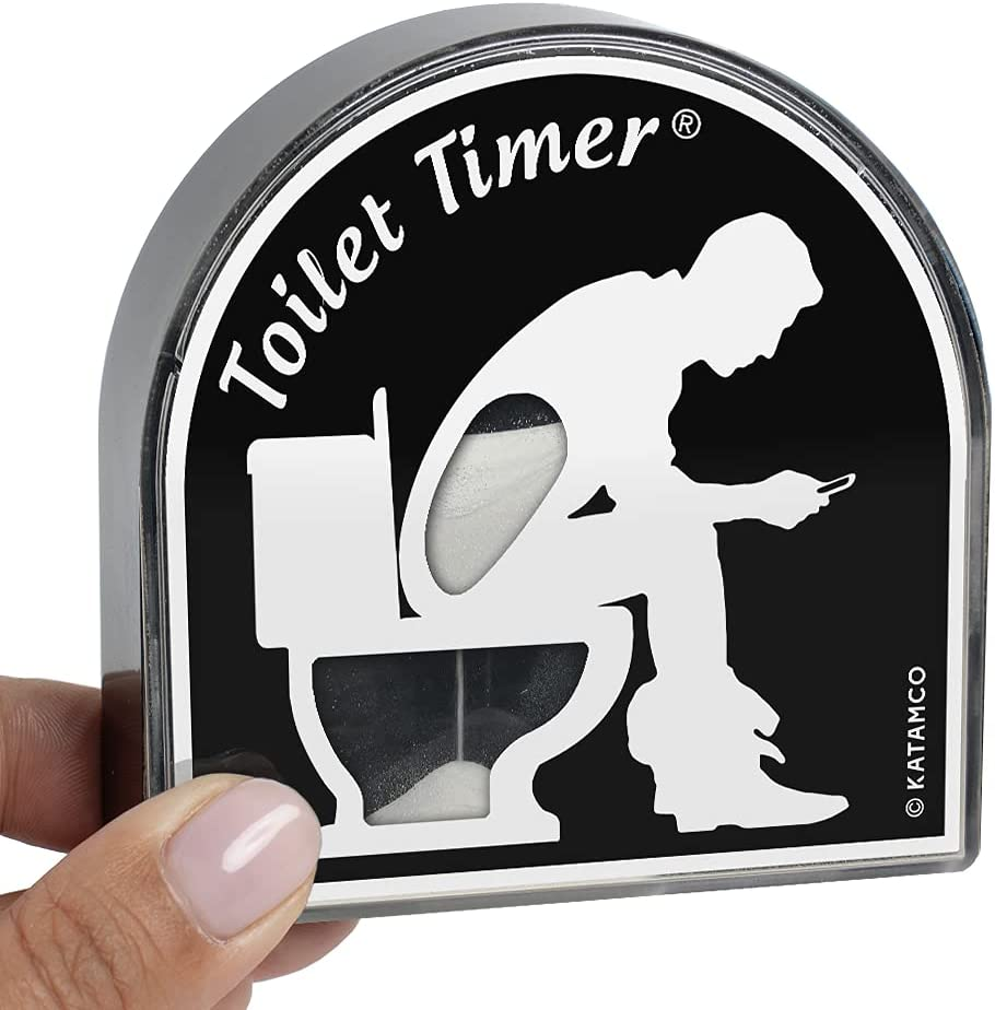 Great Gift Ideas for Father's Day- toilet timer